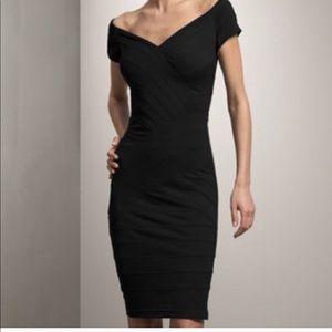 T by TADASHI NEW DRESS stretchy solid fabric L